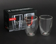 Pavina Bodum Double Walled Glasses