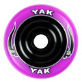 YAK 100mm Scat Metalcore Purple on Black