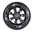 ENVY 7 Spoke Wheel Black on Black 110MM Pair