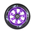 ENVY 7 Spoke Wheel Black on Purple 110MM Pair