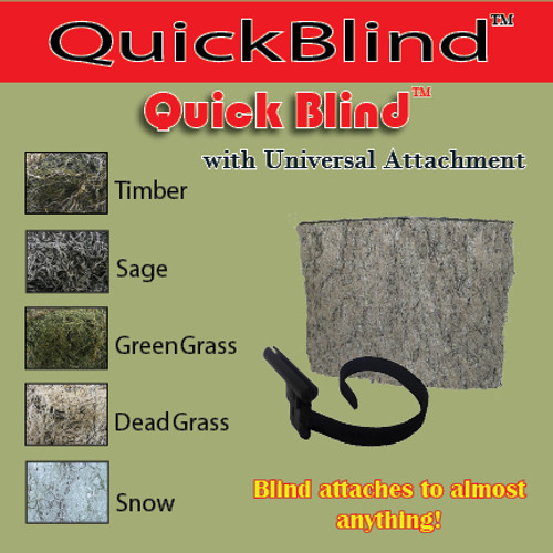 QUICK BLIND W/ UNIVERSAL ATTACHEMENT