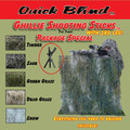 GHILLIE SHOOTING STICKS PACKAGE SPECIAL (Save $11.85)