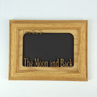 Love You to the Moon and Back 5x7 Picture Frame