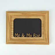 Me & My Bae 5x7 Picture Frame