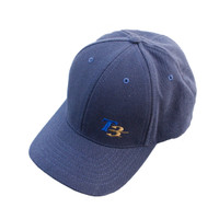 T3 Embroidered Hat FlexFit, Navy