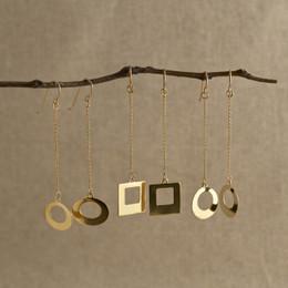 Gold Vermeil Mojo Drop Earrings