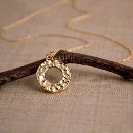 Gold Vermeil Looparella Necklace