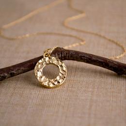 Gold Vermeil Looparella Necklace