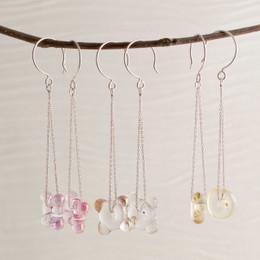 """LIMITED: """"Sunken Treasure Glass"""" Earrings"""