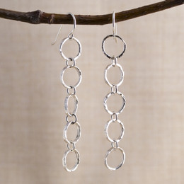 Halo Quintet Earrings