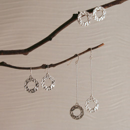 Looparella Droplet, Post, or Long Drop Earrings