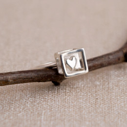 Heart in Cage Ring