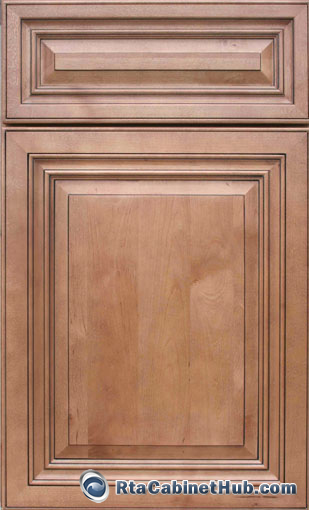 Cinnamon maple glaze rta cabinet hub glazed toffee for Kitchen cabinet door colors
