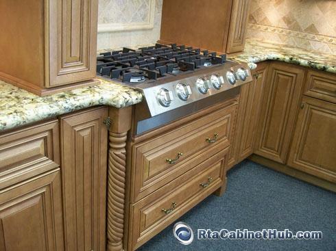 Range Cabinet. Cinnamon Maple Glaze   RTA Cabinet Hub   Glazed Toffee