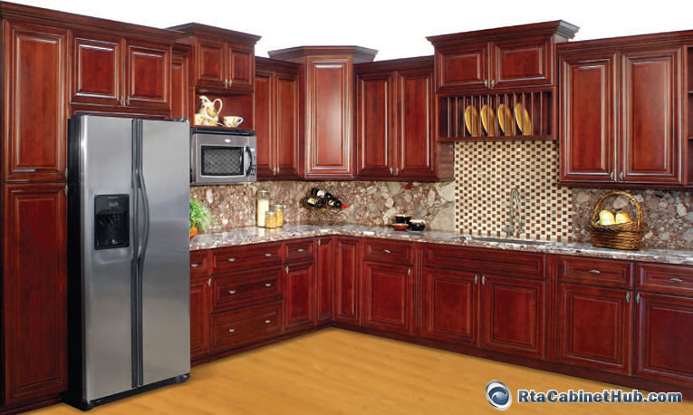 RTA Kitchen Cabinets Lexington Cherry RTA Cabinet Hub