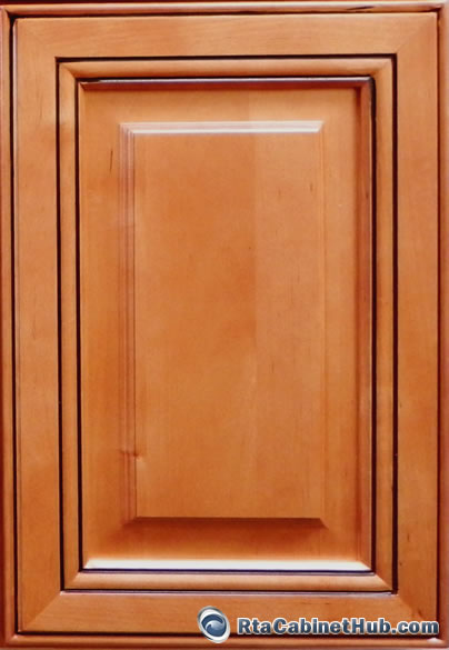 new yorker - ready to assemble kitchen cabinets - copper caramel