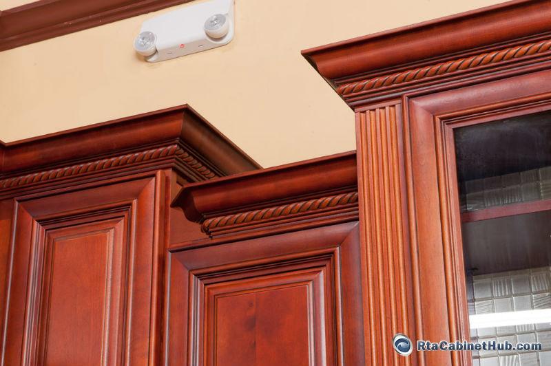 Assembled Kitchen Cabinets - Princeton Cherry - RTA Cabinet Hub