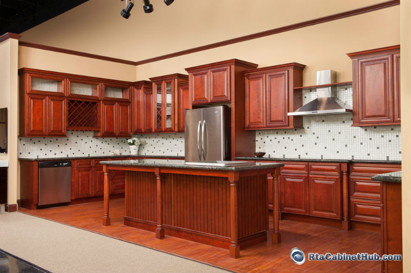 all wood cabinets princeton cherry