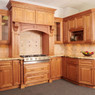 Cinnamon Maple Glaze Kitchen Cabinet Set