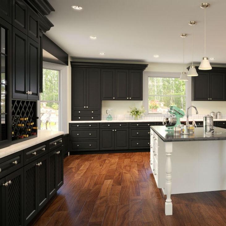 Genial Verona Midnight Kitchen Cabinet Set