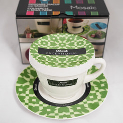 Exceptional Teacup Green