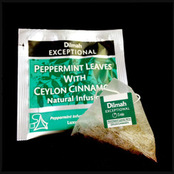 Peppermint & Ceylon Cinnamon - Luxury Tbag Sachets (50's)