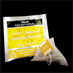 Lively Lime & Orange Fusion - Luxury Tbag Sachets (50's)