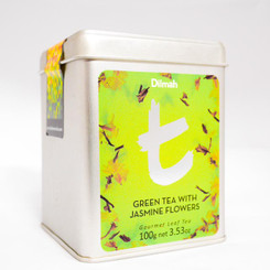 Green Tea with Jasmine Flowers - Loose Leaf (100g)