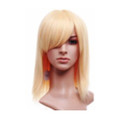 CHW-11 Blonde Medium Cosplay Hair Wig