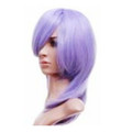 CHW-13 Amethyst Purple Medium Cosplay Hair Wig
