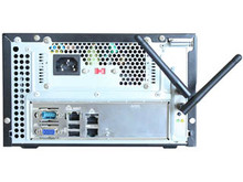 "KS-NAS-12-i25_3T1 (Back) NAS, 4x 2.5"" bay (unpopulated), Intel C2550 quad-core, 8GB DRAM, Internal 1TB drive  + 3TB drive, 2x Gbit LAN plus WiFi or additional Gbit LAN, dual monitor + audio ports"