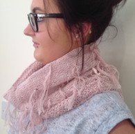 NEW Ashley Tasseled Cowl with Lining