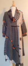 Crossdoney Dress and Cowl