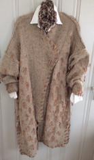 Front Beige Tweed