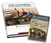 Special Holiday Gift Set - The Gathering of Mustangs & Legends: The Final Roundup DVD and Autographed Book