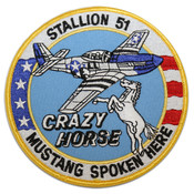 Crazy Horse Circle Patch