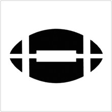 Football Professional Stencil Insert