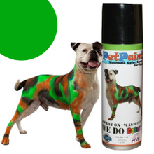 Colored Pet Hair Spray - Greyhound Green