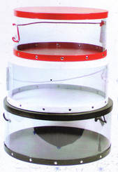 Clear Hat Boxes