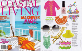 Coastal Living Magazine June 2011