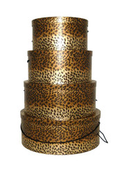 Leopard Hat Boxes