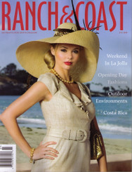 Ranch and Coast July 2009 Cover