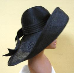 """Gorgeous"" Sheer Profile Hat"