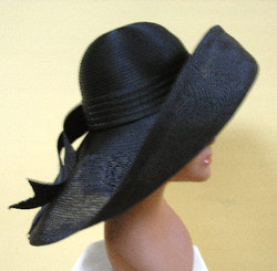 """Gorgeous"" Sheer Profile Hat"