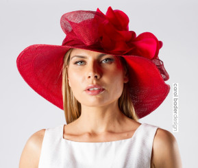 Hampton's Hat Red (dyed)