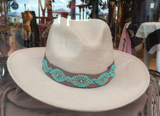 Ranger hat with Turquoise band