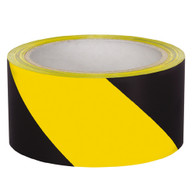 Hazard Stripe Tape - Black/Yellow