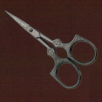 Victorian arabesque embroidery scissors