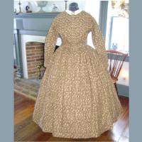 1860s Civil War Day Dress