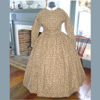1860s Civil War Day Dress